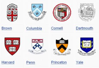 美国八所常青藤大学